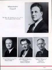Page 8, 1945 Edition, Trinity University - Mirage Yearbook (San Antonio, TX) online yearbook collection