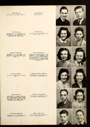 Page 11, 1943 Edition, Cooleemee High School - Indian Echo Yearbook (Cooleemee, NC) online yearbook collection