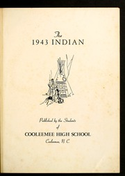 Page 5, 1943 Edition, Cooleemee High School - Indian Echo Yearbook (Cooleemee, NC) online yearbook collection