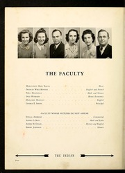 Page 8, 1943 Edition, Cooleemee High School - Indian Echo Yearbook (Cooleemee, NC) online yearbook collection