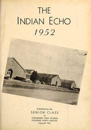 Page 5, 1952 Edition, Cooleemee High School - Indian Echo Yearbook (Cooleemee, NC) online yearbook collection