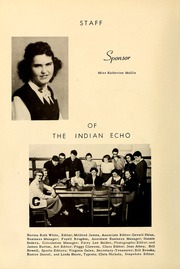 Page 8, 1952 Edition, Cooleemee High School - Indian Echo Yearbook (Cooleemee, NC) online yearbook collection
