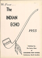Page 7, 1955 Edition, Cooleemee High School - Indian Echo Yearbook (Cooleemee, NC) online yearbook collection