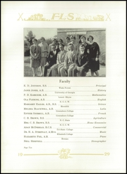 Page 14, 1929 Edition, Farm Life High School - Parrot Yearbook (China Grove, NC) online yearbook collection