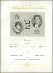 Page 16, 1929 Edition, Farm Life High School - Parrot Yearbook (China Grove, NC) online yearbook collection