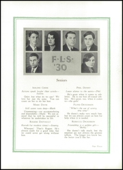 Page 15, 1930 Edition, Farm Life High School - Parrot Yearbook (China Grove, NC) online yearbook collection