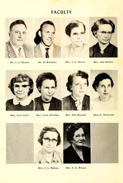 Page 10, 1957 Edition, Townsville High School - La Petite Ville Yearbook (Townsville, NC) online yearbook collection