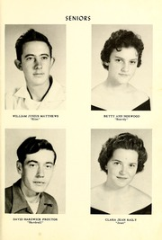 Page 15, 1957 Edition, Townsville High School - La Petite Ville Yearbook (Townsville, NC) online yearbook collection