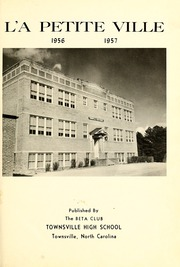 Page 5, 1957 Edition, Townsville High School - La Petite Ville Yearbook (Townsville, NC) online yearbook collection