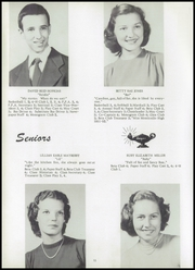 Page 14, 1952 Edition, Monticello High School - Mon Echo Yearbook (Browns Summit, NC) online yearbook collection