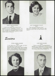 Page 16, 1952 Edition, Monticello High School - Mon Echo Yearbook (Browns Summit, NC) online yearbook collection