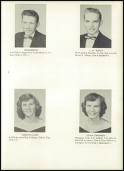 Page 15, 1954 Edition, Monticello High School - Mon Echo Yearbook (Browns Summit, NC) online yearbook collection