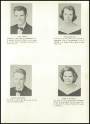 Page 17, 1954 Edition, Monticello High School - Mon Echo Yearbook (Browns Summit, NC) online yearbook collection
