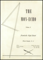 Page 7, 1954 Edition, Monticello High School - Mon Echo Yearbook (Browns Summit, NC) online yearbook collection
