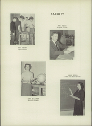Page 10, 1957 Edition, Monticello High School - Mon Echo Yearbook (Browns Summit, NC) online yearbook collection