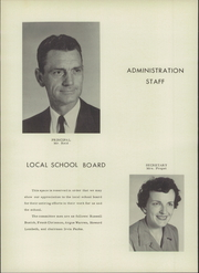 Page 8, 1957 Edition, Monticello High School - Mon Echo Yearbook (Browns Summit, NC) online yearbook collection