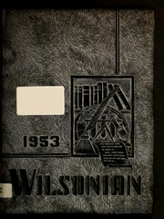 1953 Edition, Alexander Wilson High School - Wilsonian Yearbook (Graham, NC)