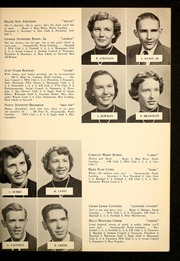 Page 13, 1955 Edition, Alexander Wilson High School - Wilsonian Yearbook (Graham, NC) online yearbook collection