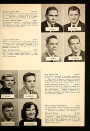 Page 17, 1955 Edition, Alexander Wilson High School - Wilsonian Yearbook (Graham, NC) online yearbook collection
