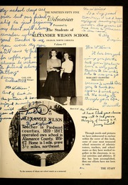 Page 5, 1955 Edition, Alexander Wilson High School - Wilsonian Yearbook (Graham, NC) online yearbook collection