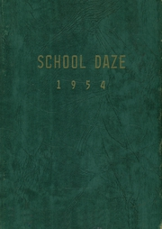1954 Edition, Belwood High School - School Daze Yearbook (Belwood, NC)