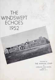 Page 5, 1952 Edition, Copeland High School - Windswept Echoes Yearbook (Copeland, NC) online yearbook collection
