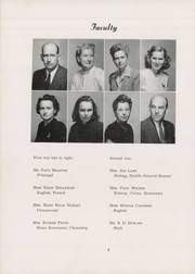 Page 10, 1949 Edition, Siler City High School - Seniorogue Yearbook (Siler City, NC) online yearbook collection