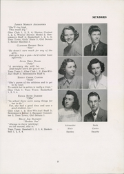 Page 13, 1949 Edition, Siler City High School - Seniorogue Yearbook (Siler City, NC) online yearbook collection