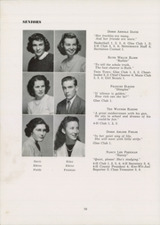 Page 14, 1949 Edition, Siler City High School - Seniorogue Yearbook (Siler City, NC) online yearbook collection