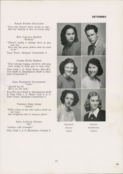 Page 15, 1949 Edition, Siler City High School - Seniorogue Yearbook (Siler City, NC) online yearbook collection