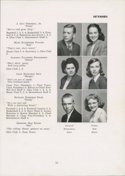 Page 17, 1949 Edition, Siler City High School - Seniorogue Yearbook (Siler City, NC) online yearbook collection