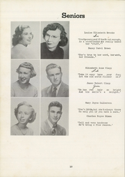Page 14, 1950 Edition, Siler City High School - Seniorogue Yearbook (Siler City, NC) online yearbook collection