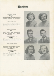 Page 15, 1950 Edition, Siler City High School - Seniorogue Yearbook (Siler City, NC) online yearbook collection