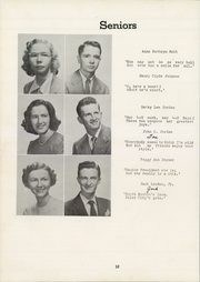 Page 16, 1950 Edition, Siler City High School - Seniorogue Yearbook (Siler City, NC) online yearbook collection