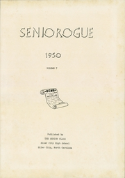 Page 5, 1950 Edition, Siler City High School - Seniorogue Yearbook (Siler City, NC) online yearbook collection