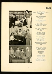 Page 10, 1951 Edition, E M Holt High School - Reg O Ala Yearbook (Burlington, NC) online yearbook collection