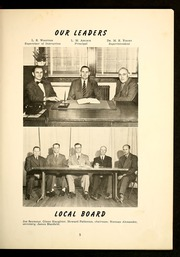 Page 9, 1951 Edition, E M Holt High School - Reg O Ala Yearbook (Burlington, NC) online yearbook collection