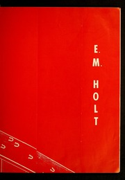 Page 9, 1957 Edition, E M Holt High School - Reg O Ala Yearbook (Burlington, NC) online yearbook collection