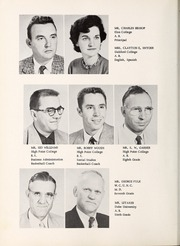 Page 12, 1957 Edition, Pinnacle High School - Panther Yearbook (Pinnacle, NC) online yearbook collection