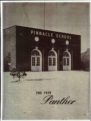 Page 1, 1959 Edition, Pinnacle High School - Panther Yearbook (Pinnacle, NC) online yearbook collection