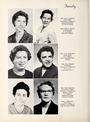Page 12, 1963 Edition, Pinnacle High School - Panther Yearbook (Pinnacle, NC) online yearbook collection