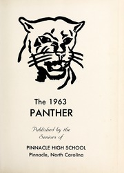 Page 5, 1963 Edition, Pinnacle High School - Panther Yearbook (Pinnacle, NC) online yearbook collection