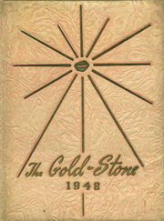 Goldston High School - Gold Stone Yearbook (Goldston, NC) online yearbook collection, 1948 Edition, Page 1