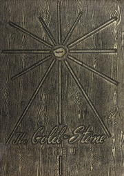 Goldston High School - Gold Stone Yearbook (Goldston, NC) online yearbook collection, 1950 Edition, Page 1