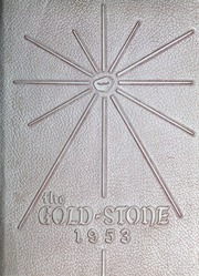 Goldston High School - Gold Stone Yearbook (Goldston, NC) online yearbook collection, 1953 Edition, Page 1