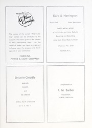 Page 59, 1953 Edition, Goldston High School - Gold Stone Yearbook (Goldston, NC) online yearbook collection