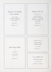 Page 60, 1953 Edition, Goldston High School - Gold Stone Yearbook (Goldston, NC) online yearbook collection