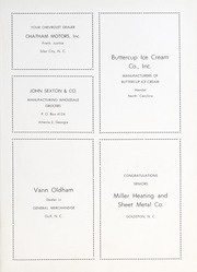 Page 63, 1953 Edition, Goldston High School - Gold Stone Yearbook (Goldston, NC) online yearbook collection