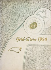 Goldston High School - Gold Stone Yearbook (Goldston, NC) online yearbook collection, 1954 Edition, Page 1