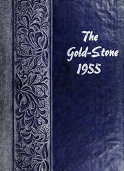 Goldston High School - Gold Stone Yearbook (Goldston, NC) online yearbook collection, 1955 Edition, Page 1